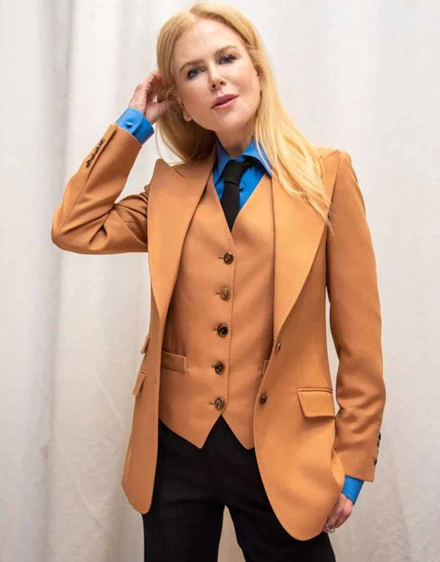The-Undoing-Nicole-Kidman-Brown-Suit
