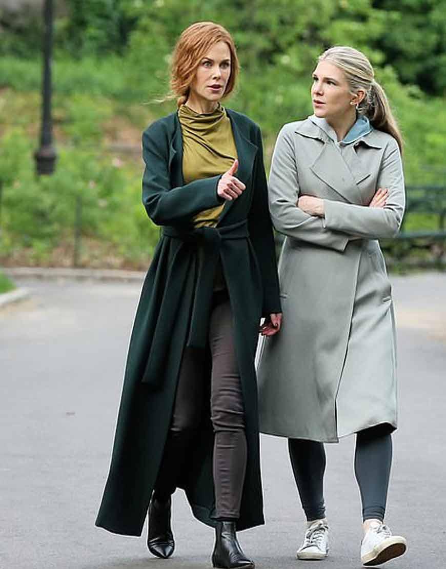 The-Undoing-Nicole-Kidman-Green-Trench-coat