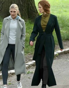 The-Undoing-Nicole-Kidman-Long-Green-Trench-coat