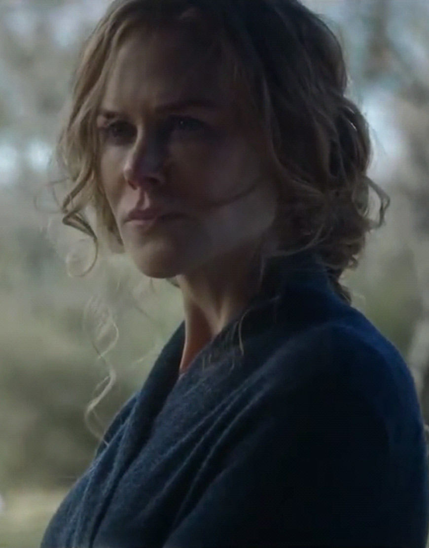 The Undoing Nicole Kidman Wrap Cardigan