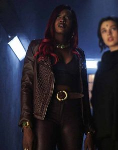 Titans-Kory-Anders-Studded-Jacket