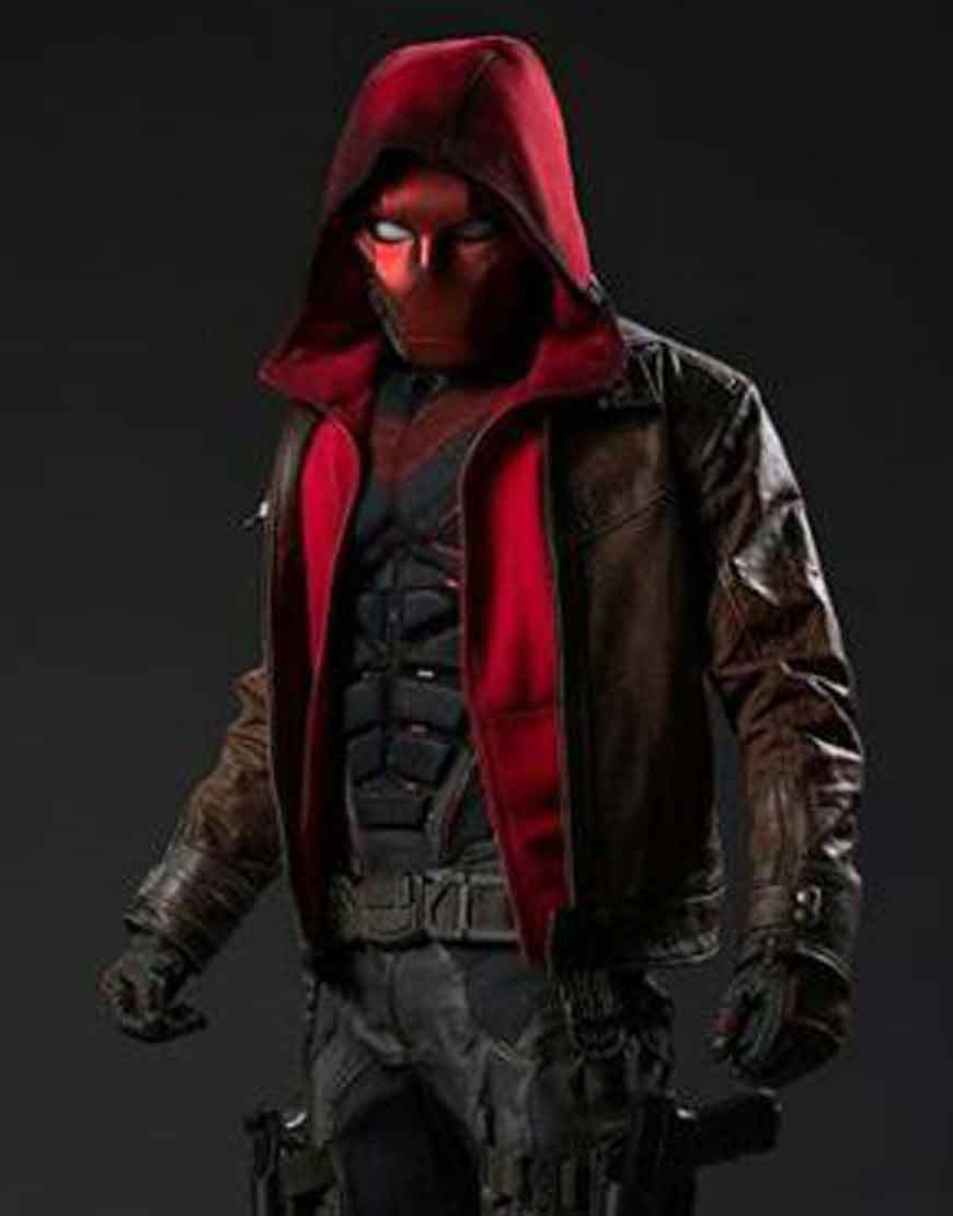 Titans-S03-Red-Hooded-Leather-Jacket