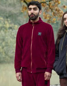 Two-Weeks-to-Live-Nicky-Maroon-Bomber-Jacket