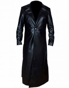 Undertaker-Black-Leather-Trench-Coat