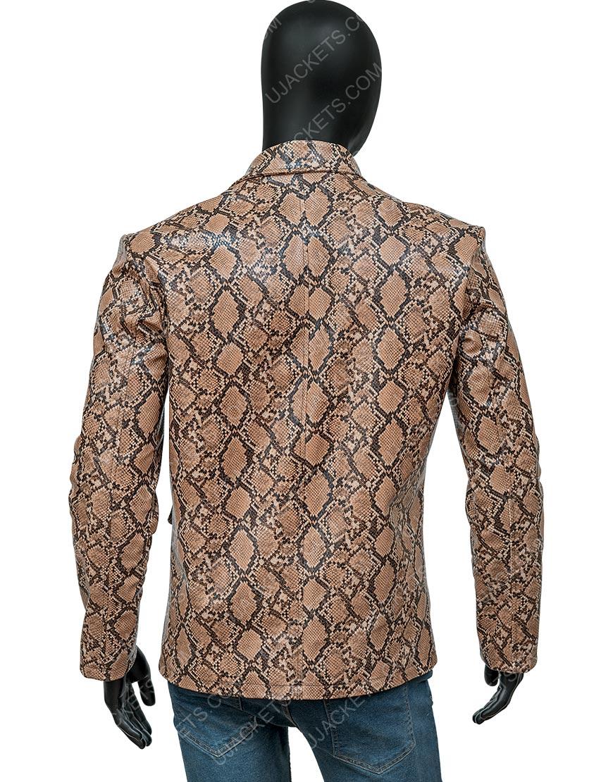 Wild at Heart Nicolas Cage Snakeskin Jacket