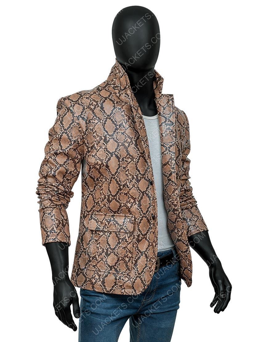 Wild at Heart Sailor Nicolas Cage Snakeskin Jacket