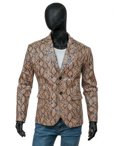 Wild at Heart Sailor Ripley Nicolas Cage Snakeskin Jacket