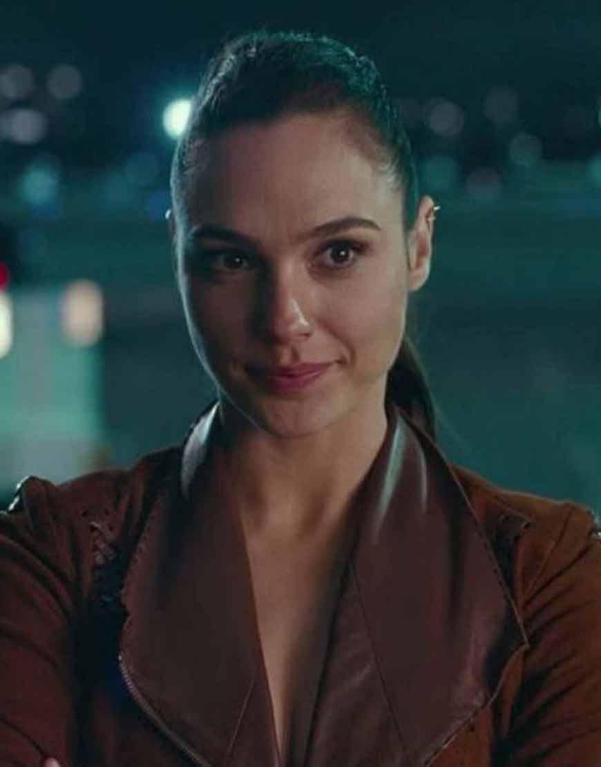 Wonder-Woman-JL-Brown-Suede-Leather--Jacket