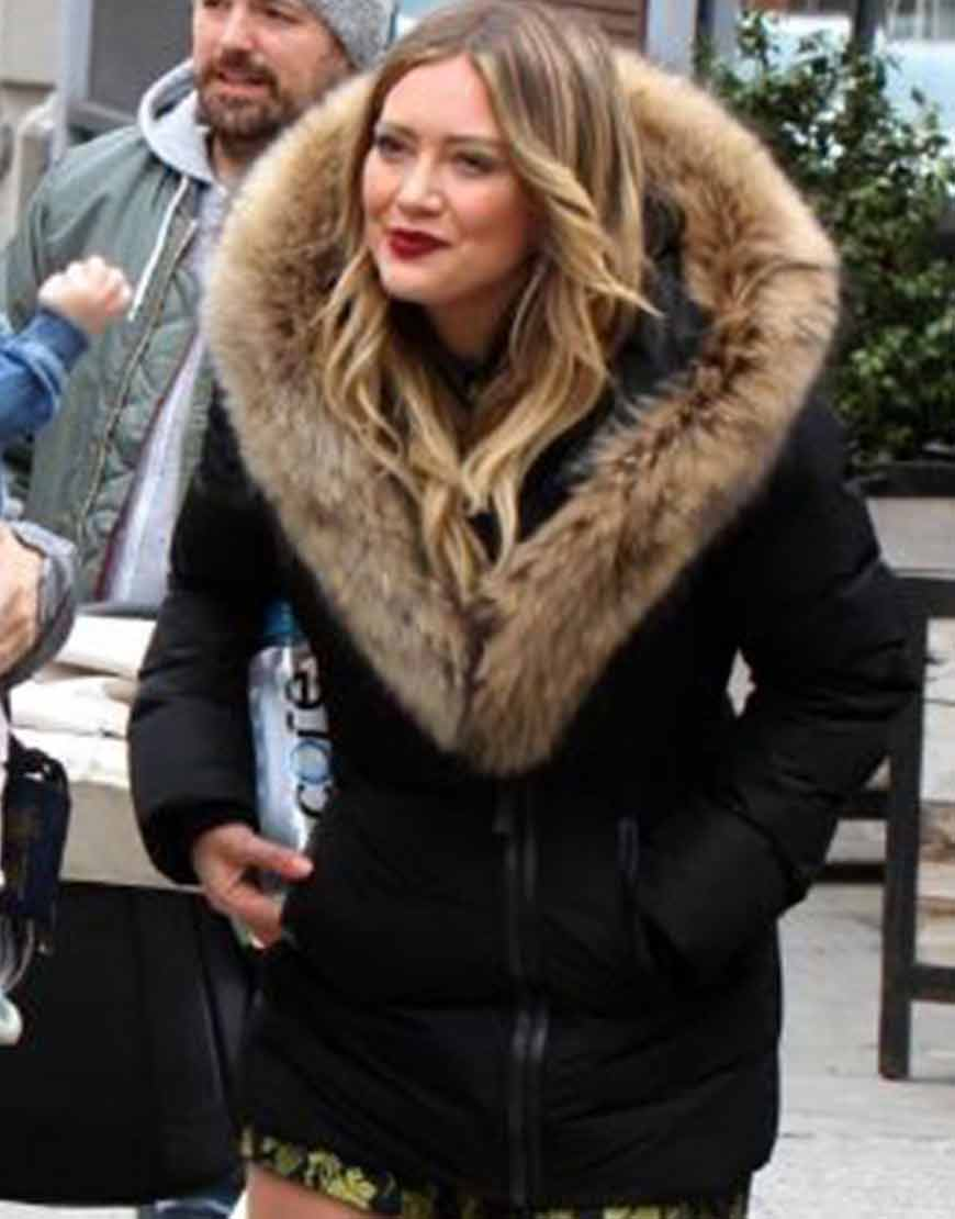 Younger-Hilary-Duff-S07-Fur-Jacket