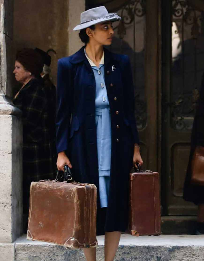 A-Call-to-Spy-Noor-Inayat-Khan-Blue-Coat