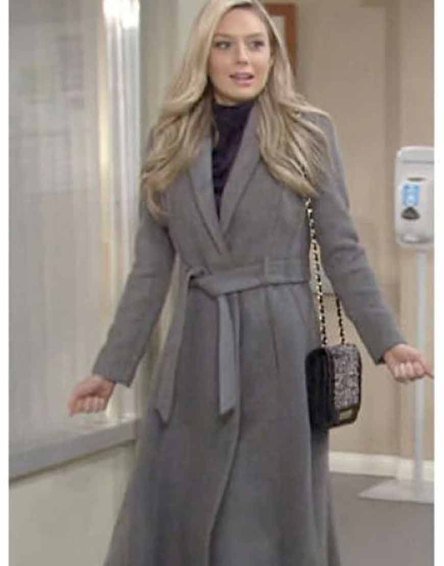 Abby-Newman-The-Young-and-the-Restless-Melissa-Ordway-Grey-Wrap-Coat