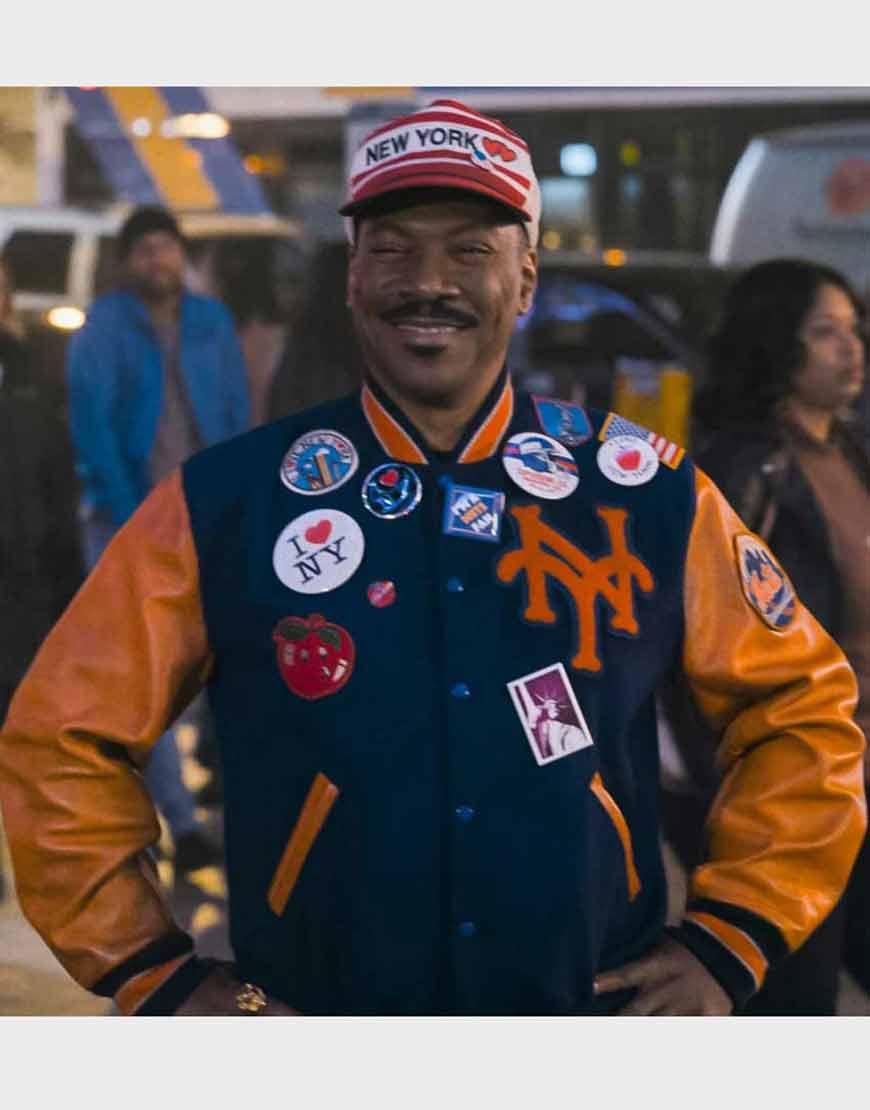Akeem-Coming-2-America-Letterman-Leather-Jacket