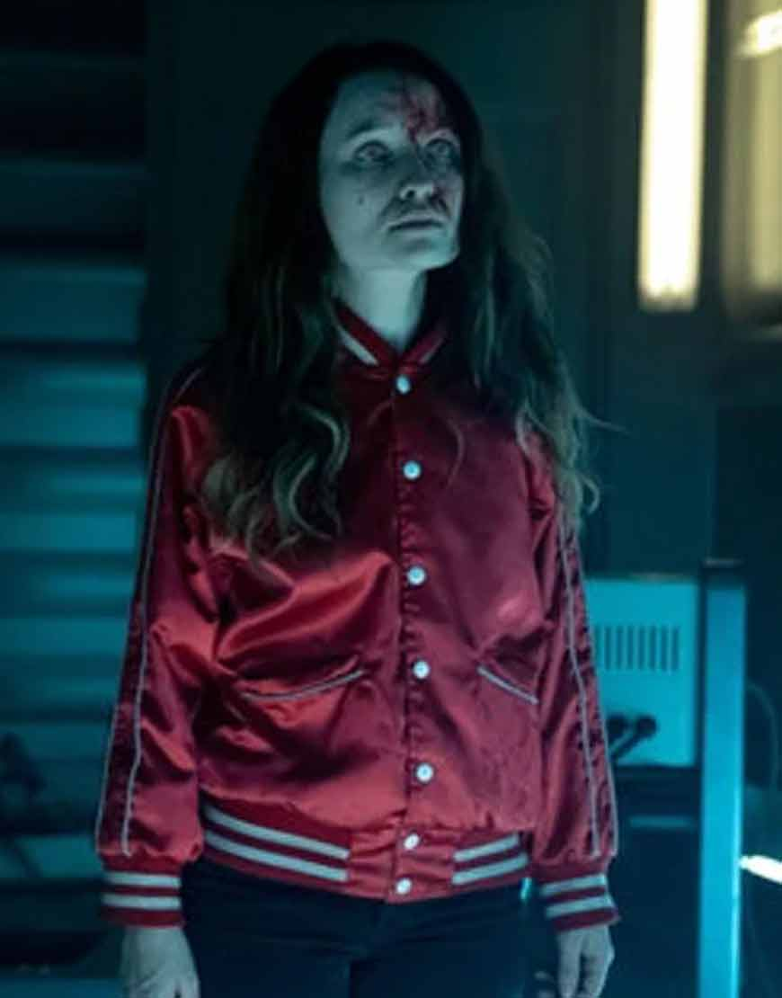 American-Gods-S02-Laura-Moon-Red-Varsity-Jacket