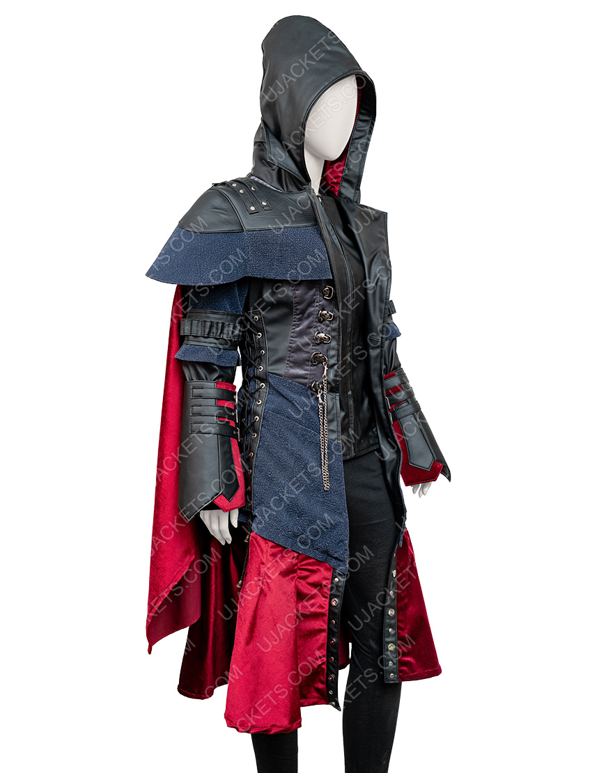 Assassin's Creed Syndicate Evie Frye Black Coat
