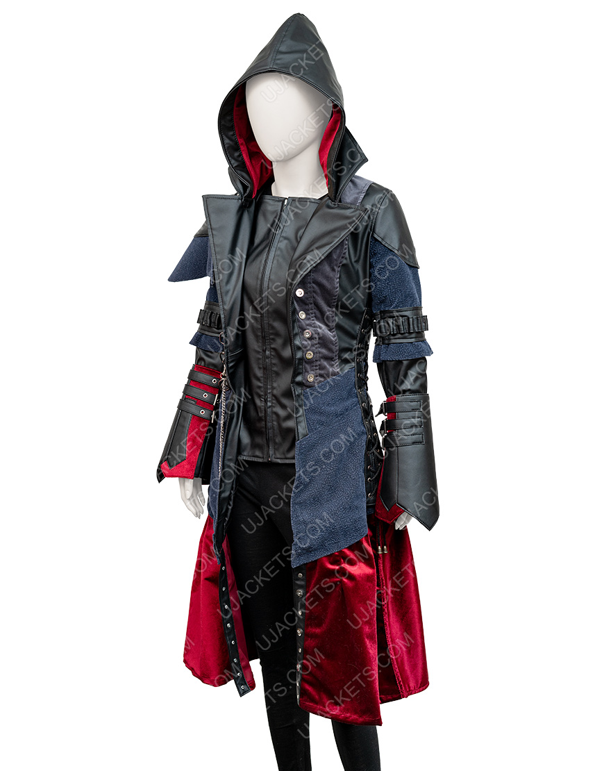 Assassin's Creed Syndicate Evie Frye Leather Jacket