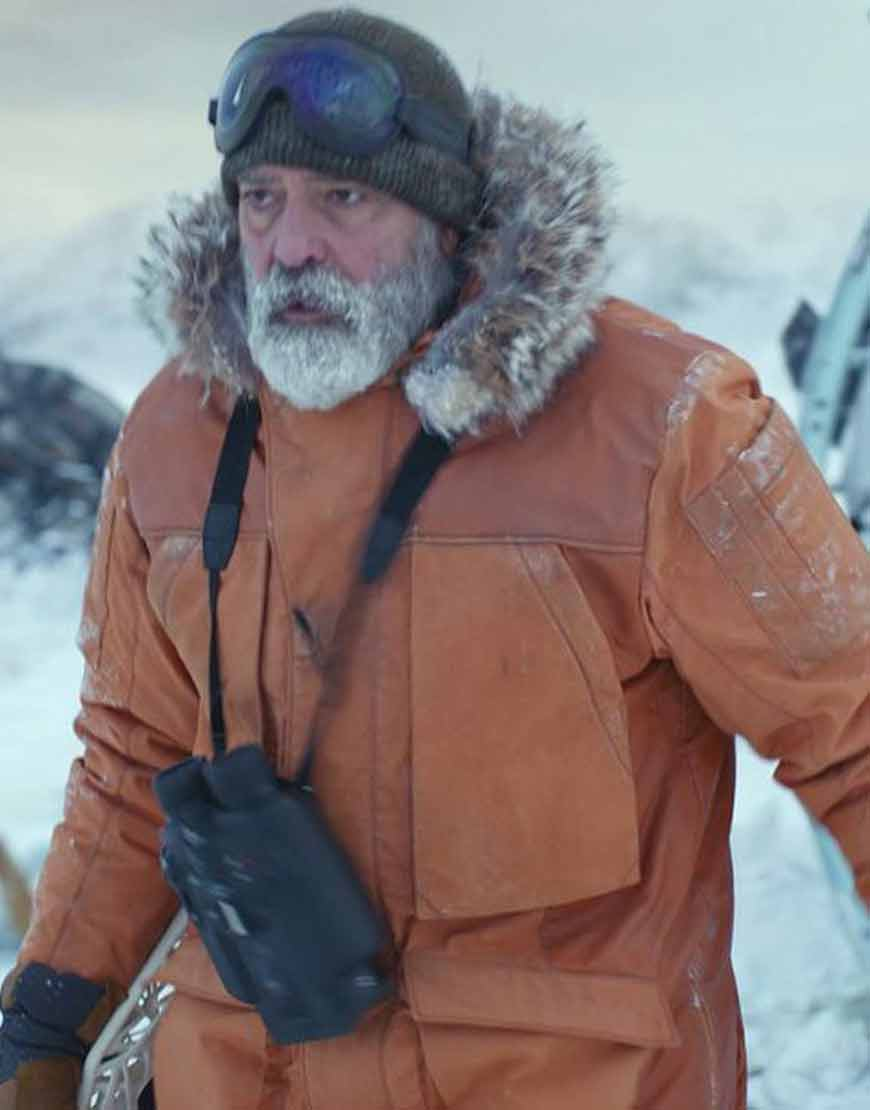 Augustine-The-Midnight-Sky-George-Clooney-Orange-Parka-Coat