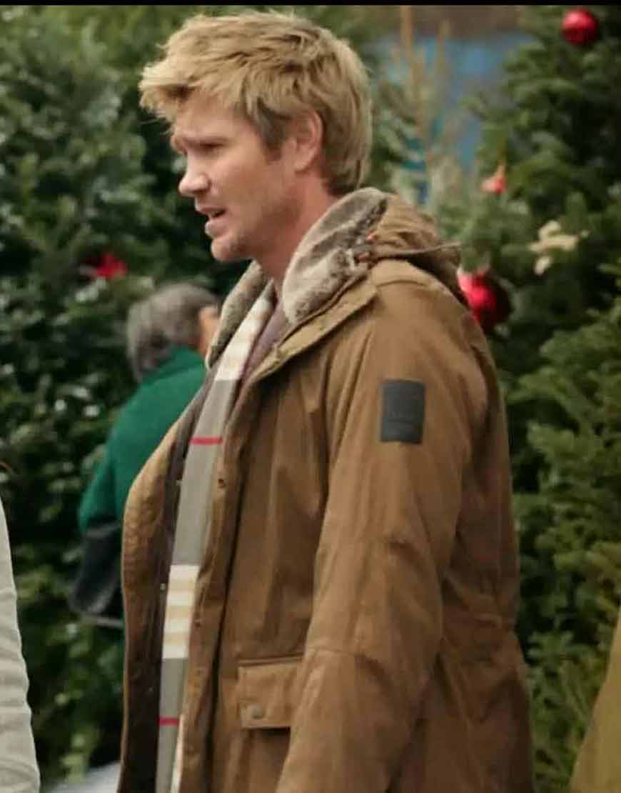 Chad-Michael-Too-Close-For-Christmas-Paul-Barnett-Brown-Jacket