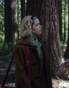 Chilling-Adventures-Of-Sabrina-S04-Kiernan-Shipka-Brown-Hooded-Coat