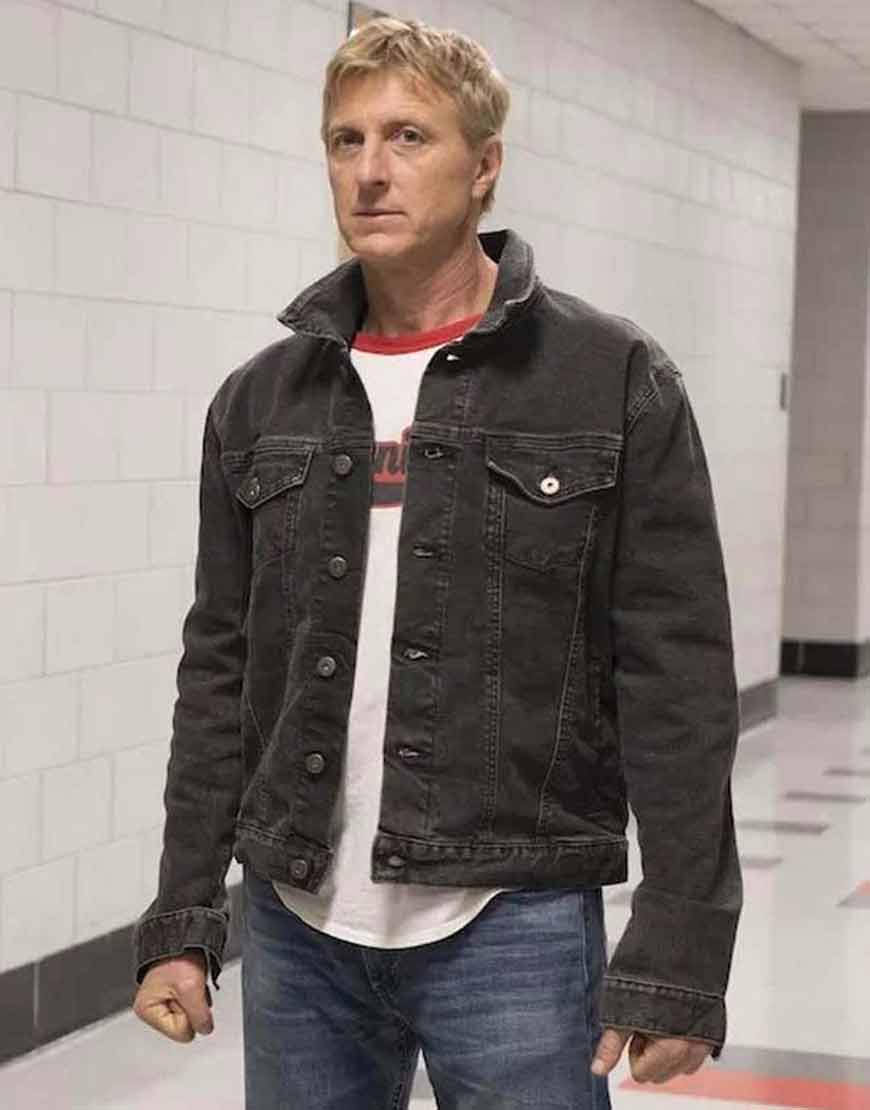 Cobra-Kai-Johnny-Lawrence-Dark-Grey-Denim-Jacket