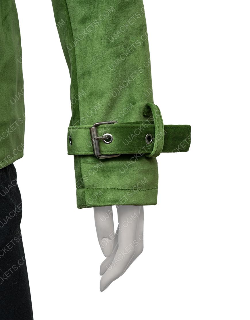 Diane Nguyen Bojack Green Halloween Costume Cosplay Jacket