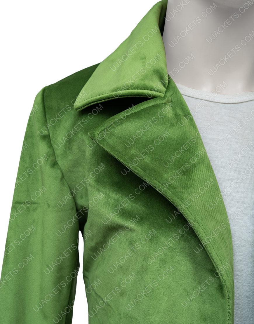Diane Nguyen Bojack Halloween Costume Cosplay Green Jacket
