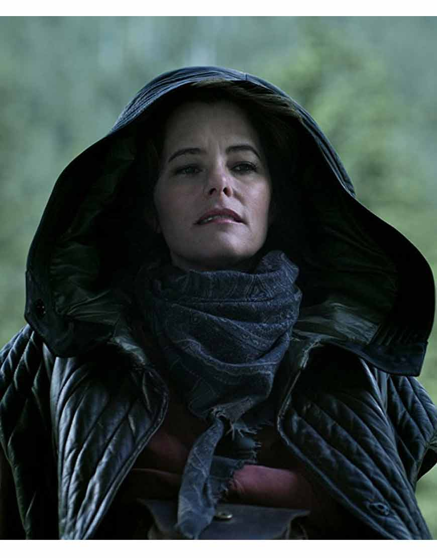 Dr.-Smith-Lost-In-Space-Parker-Posey-Black-Quilted-Hooded-Jacket