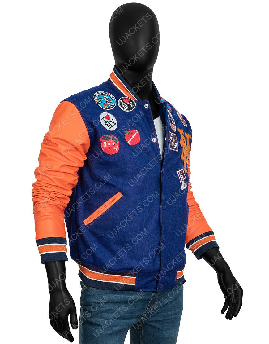Eddie Murphy Coming 2 America 2021 Akeem Varsity Jacket