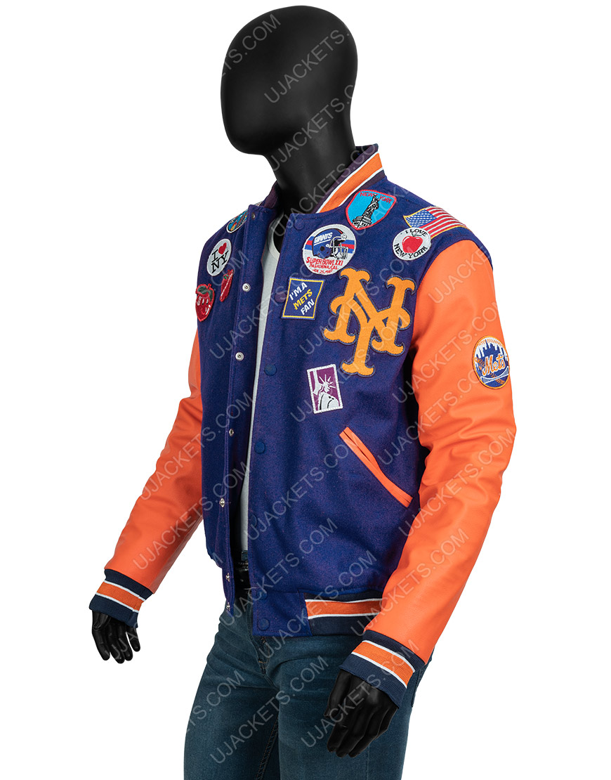 Eddie Murphy Coming 2 America Akeem Varsity Jacket