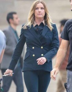 Emily-VanCamp-The-Falcon-and-the-Winter-Soldier-Sharon-Carter-Teal-Blazer