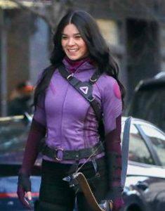 Hailee-Steinfeld-Hawkeye-Purple-Jacket