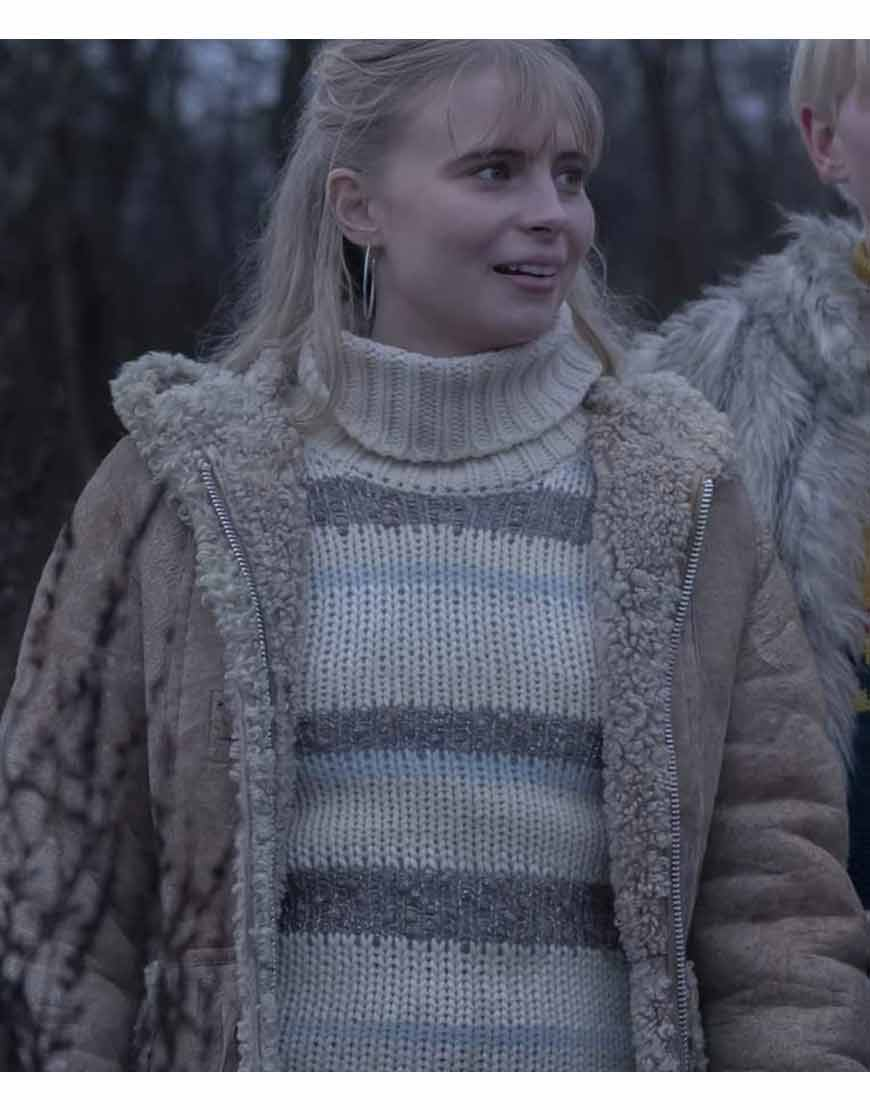 Ida-Equinox-2021-Karoline-Hamm-Shearling-Trim-Coat