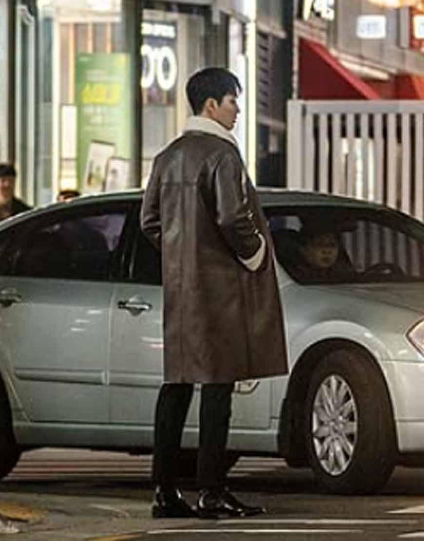 Itaewon-Class-Ahn-Bo-Hyun-Brown-Shearling-Leather-Coat
