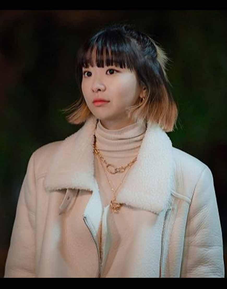 Itaewon-Class-Kim-Da-Mi-White-Jacket