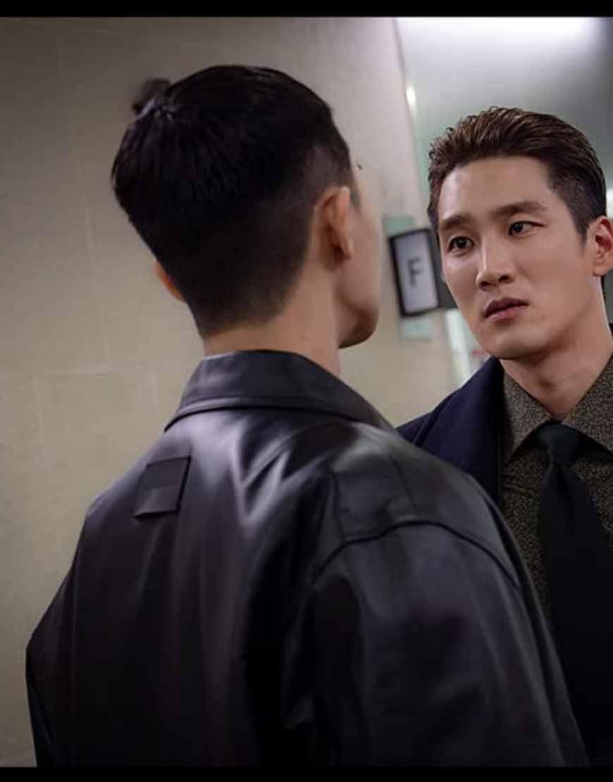 Itaewon-Keullasseu-Park-Seo-Joon-Leather-Jacket