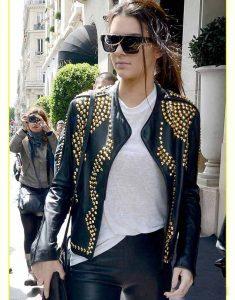 Kendall-Jenner-Studded-Leather-Biker-Jacket