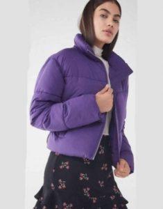 Last-Man-Standing-Krista-Marie-Yu-Purple-Puffer-Jacket