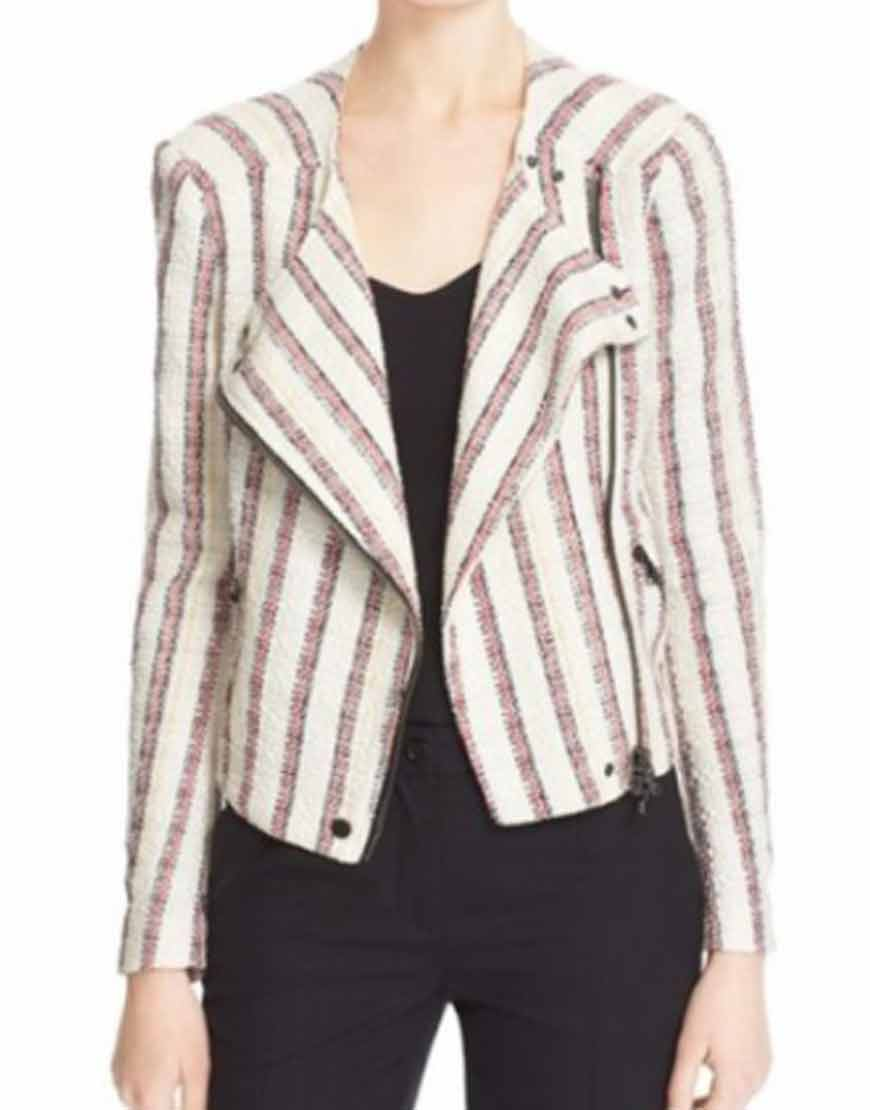 Last-Man-Standing-Nancy-Travis-Striped-Tweed-Jacket