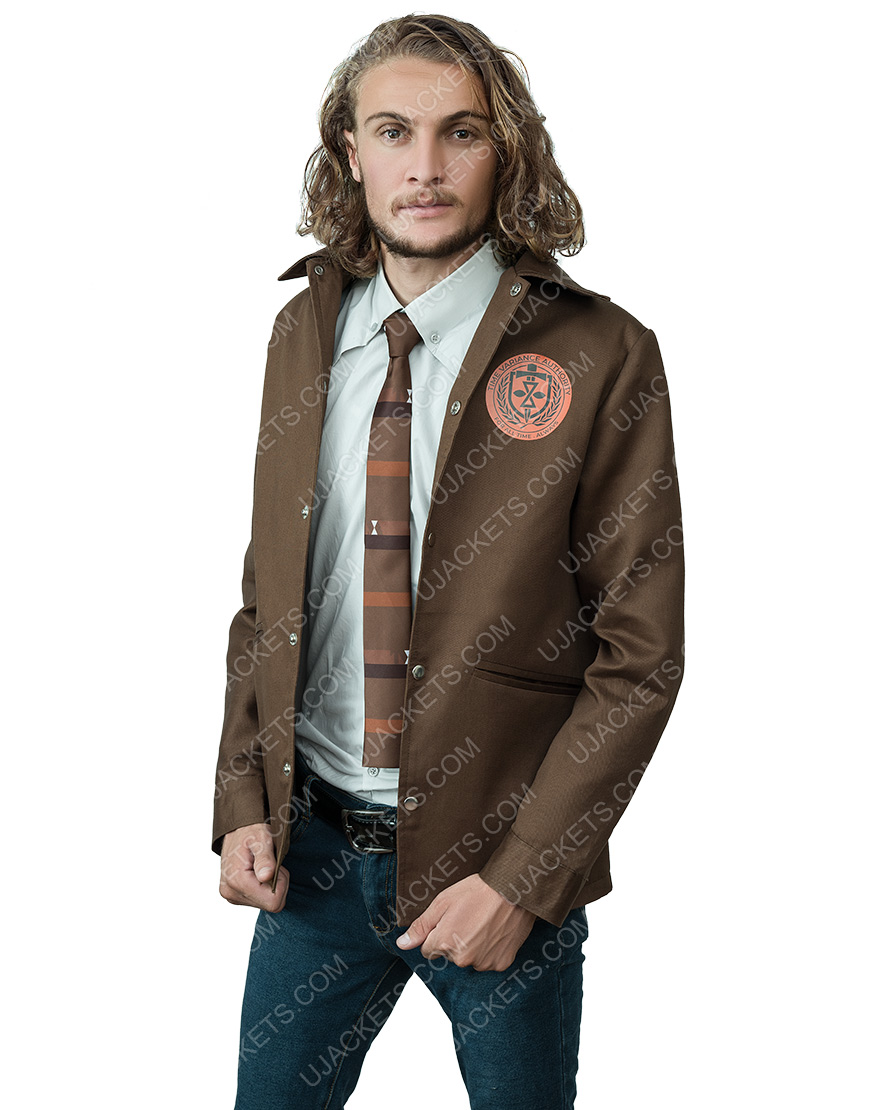 Loki 2021 Tom Hiddleston Brown Jacket
