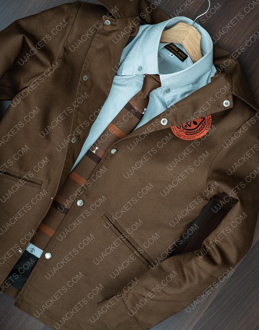 Loki Tom Hiddleston Brown Jacket For Men