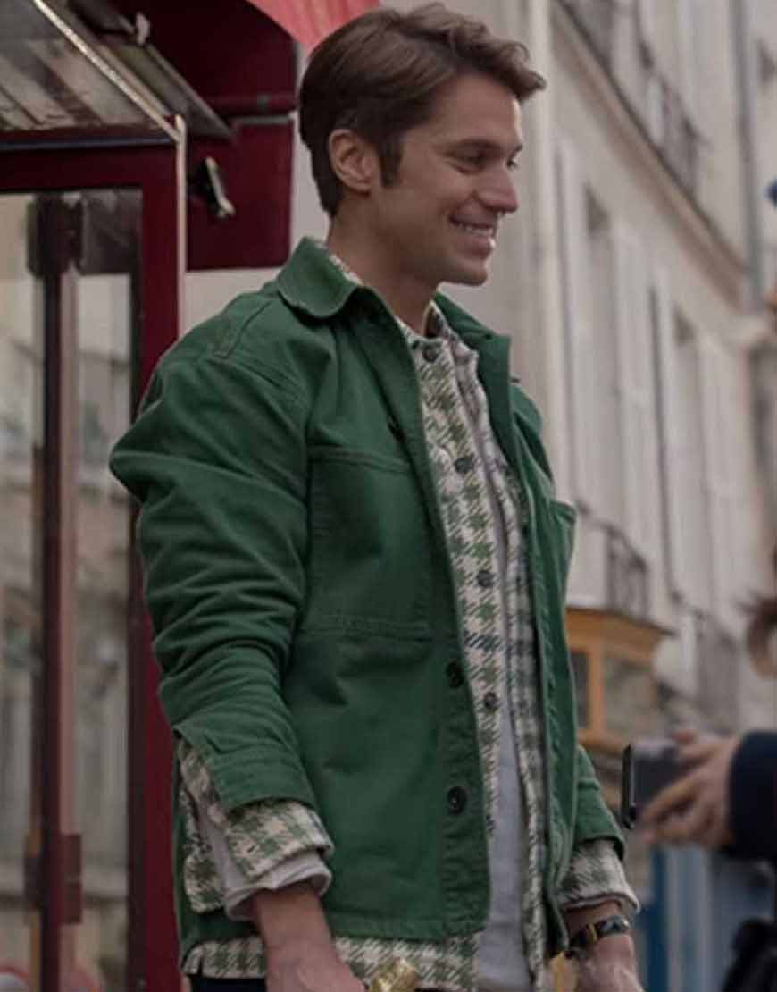 Lucas-Bravo-Emily-In-Paris-Gabriel-Cotton-Jacket