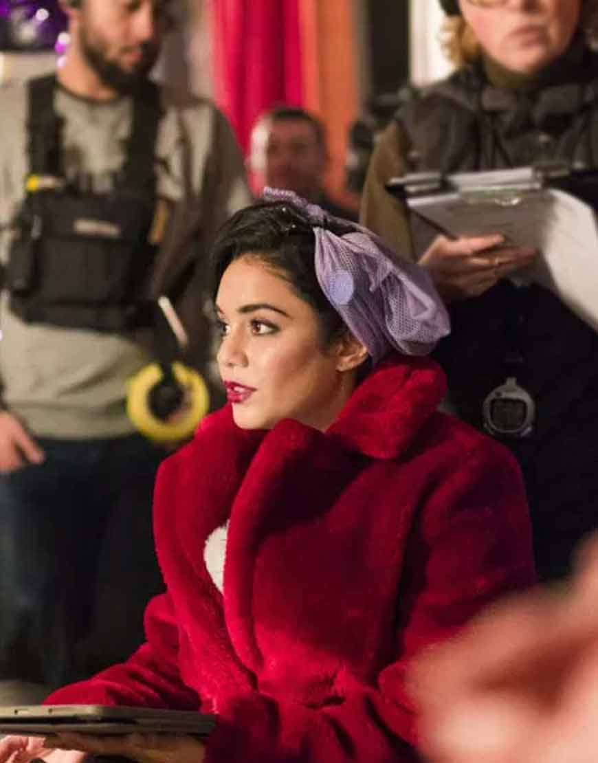 Margaret-The-Princess-Switch-Switched-Again-Vanessa-Hudgens-Fur-Coat