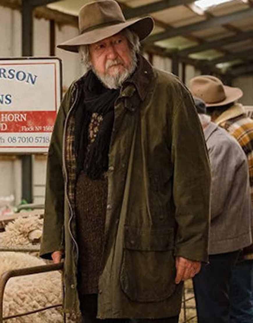 Michael-Caton-Rams-Les-Brown-Cotton-Jacket