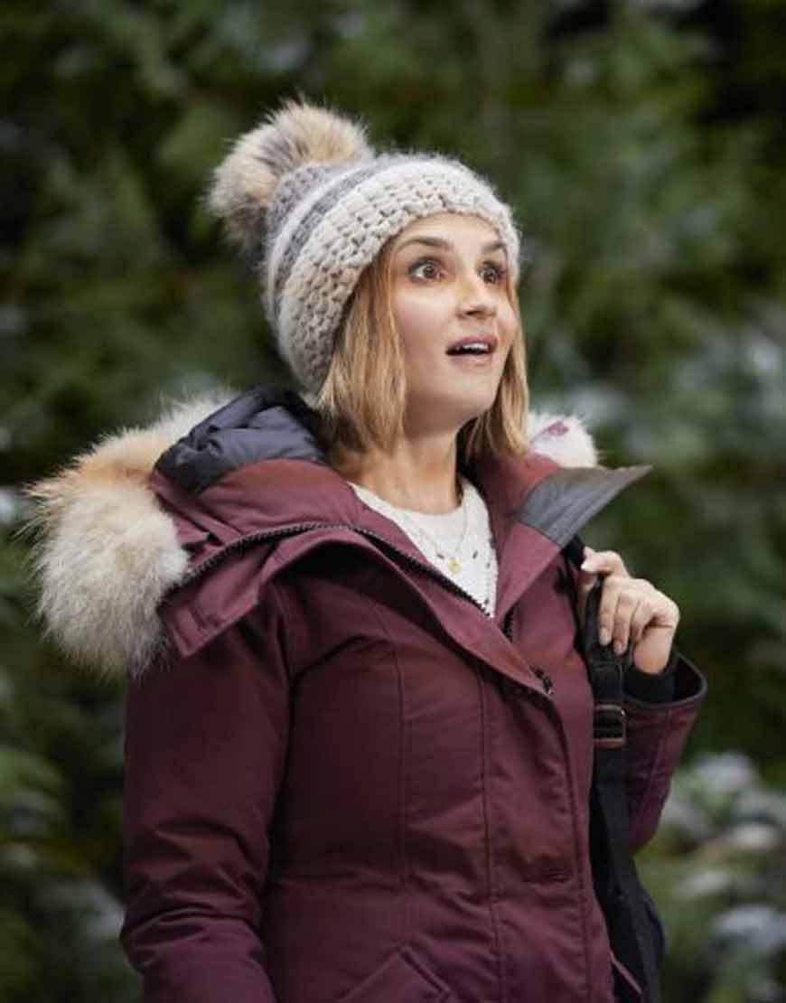 Rachael-Leigh-Cook-Cross-Country-Christmas-Lina-Parka-Jacket