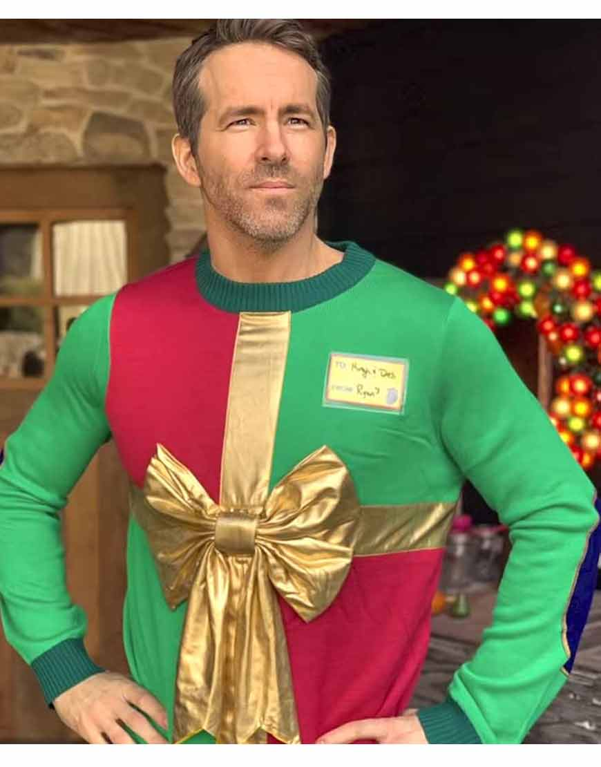 Ryan-Reynolds-Ugly-Xmas-Sickkids-Multi-Color-Sweater
