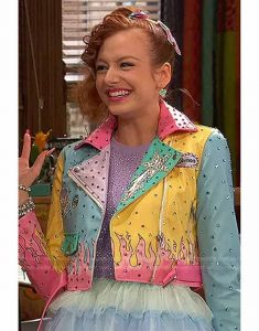 Tori-Kostic-Ravens-Home-S04-Sasha-Pastel-Color-Block-Jacket