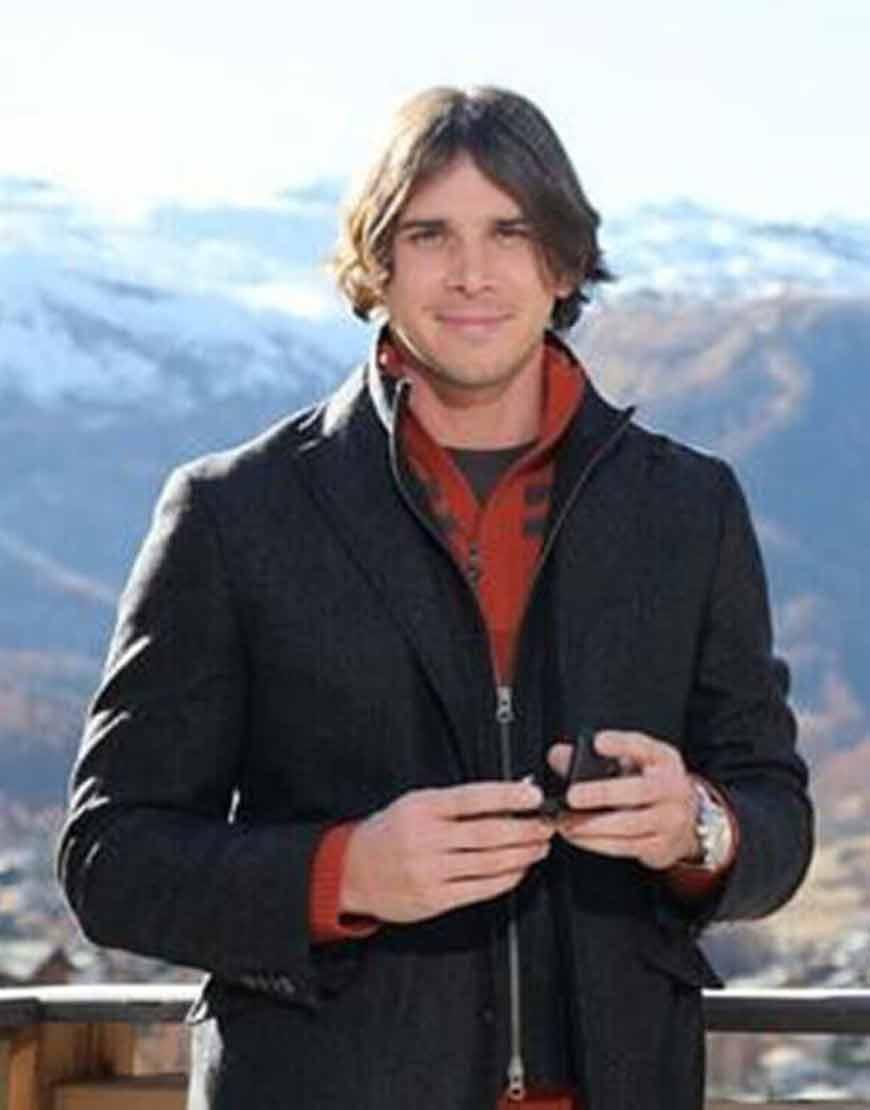 Tv-Series-The-Bachelor-Ben-Flajnik-Black-Woolen-Coat