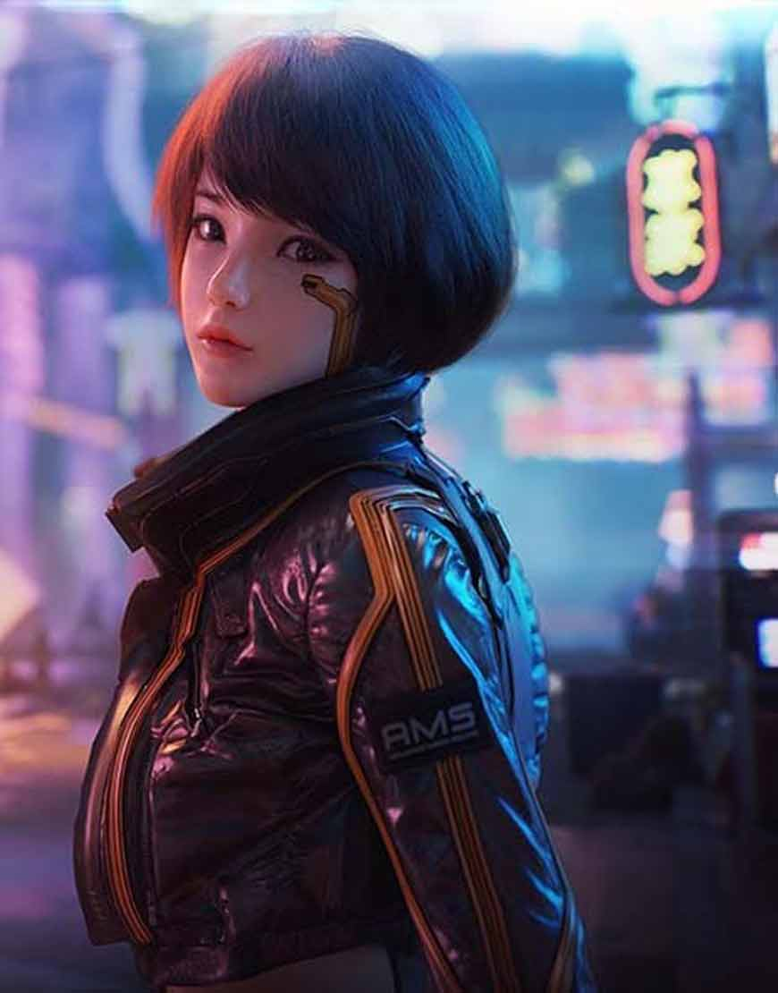 Videogame-Cyberpunk-Syn-Brown-Leather-Jacket