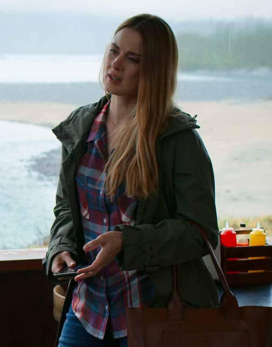 Virgin-River-Season-02-Melinda-Monroe-Green-Parka-Jacket