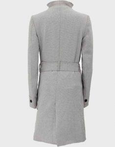 Womens-Stylish-Grey-Wool-Long-Coat