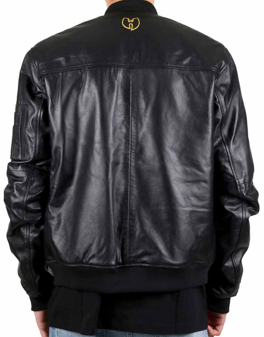 Wu-Tang-Bomber-Black-Jacket